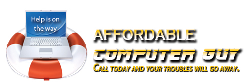 affordable computer guy logo