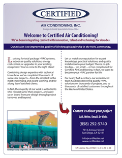 Air Conditioning brochure