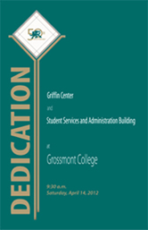Grossmont building dedication program