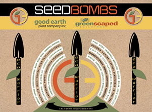 seed bomb dispenser packaging