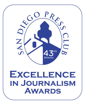 san diego press club j awards logo
